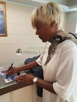 Amii Stewart Asta Beneficenza Rara Foto Autografata Autografo Signed ITP Music