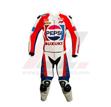 Kevin Schwantz Pepsi Suzuki Motorbike Leather Racing Suit All Size Available