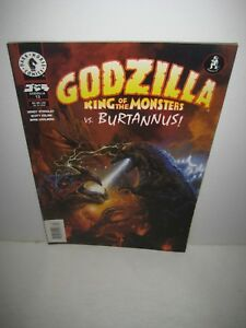 "Dark Horse Godzilla King Of The Monsters 13 ""NEWSSTAND"" Variant Super Rare"