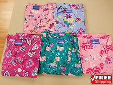 NEW Women's Scrubs Tops Uniforms Multi Color Pattern3 Regular Size Medium 5 Pack
