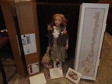 Zawieruszynski Antonia Doll  w/ COA, box & original shipper . NEVER OPENED 15/75