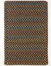 Woodstock Spacedyed Multi Soft Durable Country Cabin Braided Rug Onyx WO81