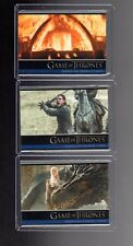 Game of Thrones season 6 P1,P2 and P3  promo cards