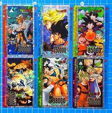 Dragon Ball Fan - Custom Card PrismCard Set 6 Cards Animate - PP Card