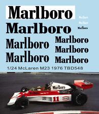 1/24 Missing Decals McLaren M23 1976 James Hunt TB Decal TBD548