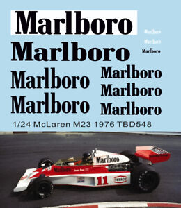1/24 Missing Decals McLaren M23 1976 James Hunt TB Decal TBD548