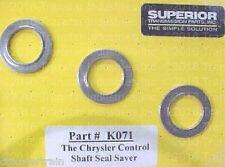 A500 500 40RH 42RH 42RE 44RE Superior K071 Manual Control Shaft Seal Saver Kit