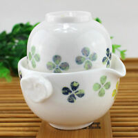 White Porcelain Teapot Tea Maker Qick Gongfu Tea Maker 150ml on sale