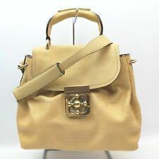 Chloe Shoulder Bag  Yellows Leather 1709540