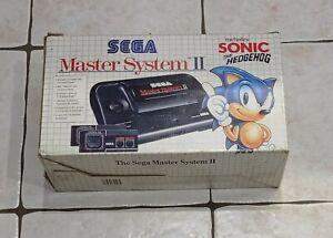 Console Sega Master System II switchée Pack Jeux Sonic  2 + Alex Kidd Pal Euro