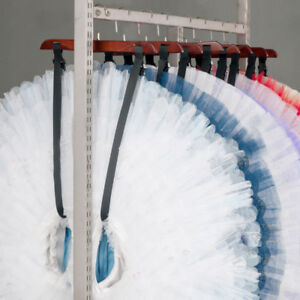 New Professional Wooden Tutu Storage Hanger Performance Competition Touring