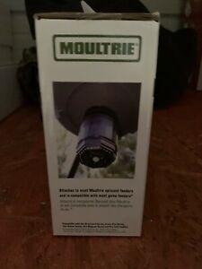 Moultrie feeder hog light, 30' diameter, motion, photocell and manual light.