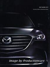 2017 Mazda Cx-9 CX9 50-page Original Car Sales Brochure Catalog