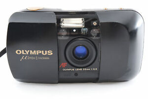 [Exc] Olympus μ mju Panorama Point & Shoot 35mm Film Camera From JAPAN