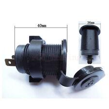 Car Boat Motorcycle Cigarette Lighter Socket Power Plug Marine Outlet Waterproof