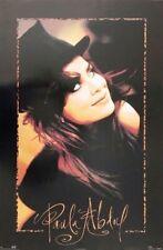 Vintage Poster - Music Paula Abdul Winterland Express 23 X 35 - Rare #8138 1991