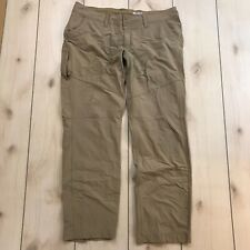 Marmot Pants Womens 36 x 30 Tan Lightweight Nylon Some wear