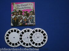 VIEW-MASTER  -  The Three Musketeers   3 reel set   c1960s