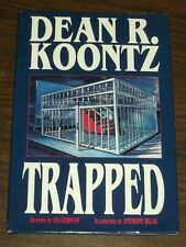 Trapped by Dean R Koontz Eclipse Books (Hardback 1993)< 1560601701
