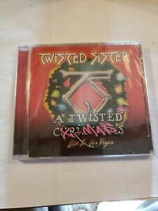 TWISTED SISTER A Twisted X-Mas CD Live Las Vegas Dee Snider Christmas Metal NEW