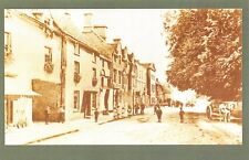 Nostalgia Postcard FAIRFORD High Street, Gloucestershire 1890s Repro Card #N24