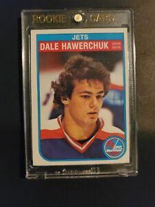 1982-83 O-PEE-CHEE OPC Dale Hawerchuk Rookie Card RC Winnipeg Jets #380