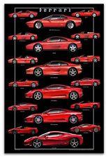 """2013""""Storia di Otto""""Ferrari V8's-Concorso Italiano Debut Aug15 Car Poster!!!!"""