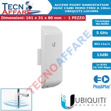 Access Point da Esterno Wireless 5GHz CPE Esterno Ubiquiti NanoStation Loco M5