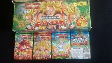 DRAGON BALL WAR CARD GAME Z KAI SUPER BOOSTER PLAYING CARDS HEROES