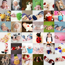 104 Styles Newborn Baby Crochet Knit Costume Baby Photo Photography Prop Outfits