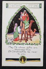 VINTAGE CHRISTMAS CARD UNUSED
