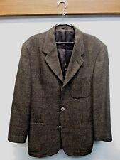 Caravan sport coat Blazer suit jacket Travelite tweed Freedberg Half lined 40/41