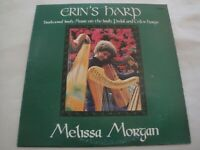 Erin's Harp MELISSA MORGAN VINYL LP ALBUM TRADITIONAL IRISH MUSIC THE FOGGY DEW