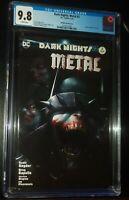 DARK NIGHTS METAL #2 2018 Mattina Variant Cover DC Comics CGC 9.8 NM/M