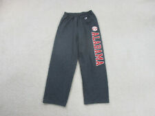 VINTAGE Alabama Crimson Tide Sweat Pants Adult Medium Gray Red Football Mens 90s