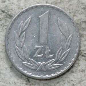Poland 1949 1 Zloty Coin