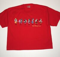 Walt Disney World T-Shirt Men's Large Minnie Mouse Throughout Through the Years