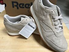 13d830298dd REEBOK CLASSIC LEATHER CLEAN EXOTICS SANDSTONE SIZE 7 SUPER CUTE WOW!