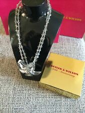 Butler And Wilson Crystal Flower Necklace
