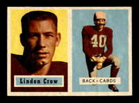 1957 Topps #91 Lindon Crow DP EXMT/EXMT+ X1601850