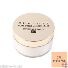 New CHACOTT FOR PROFESSIONALS Enrichng Powder HD 771 Natural 30g Make up JAPAN