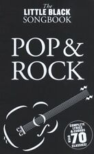 The Little Black Songbook: Pop And Rock Lyrics & Chords Book *NEW* Guitar, Song