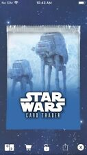 Topps Star Wars Digital Card Trader Hoth Widevision Pack Art Insert