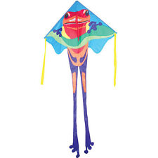 Kite Poison Dart Frog Jumbo Easy Flyer Single Line Kite String ..24... PR 44275