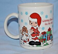 Precious Moments Coffee Mug Christmas Collectible Enesco
