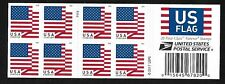 U.S. Flag (Forever) -  2018 Issue - MNH Bkt Pane of 20 Plt # P111 USPS on Red
