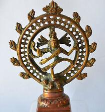 """Nataraj Statue Brass Dancing Shiva Handmade Beautiful Exemplary 5.5"""""""