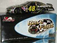 2006 Jimmie Johnson #48 Lowe's CHAMPIONSHIP CHROME RFO 1/24 car#168/288 NICE