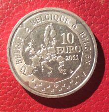 Belgique - Albert II - Monnaie Proof de 10 Euros 2011  en argent - Pole Sud