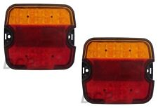 PAIR LED STOP TAIL DI NUMBER PLATE COMBINATION BOAT TRAILER TRUCK LAMP LIGHT